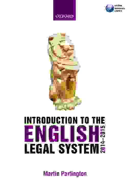 Introduction to the English Legal System 2014-2015