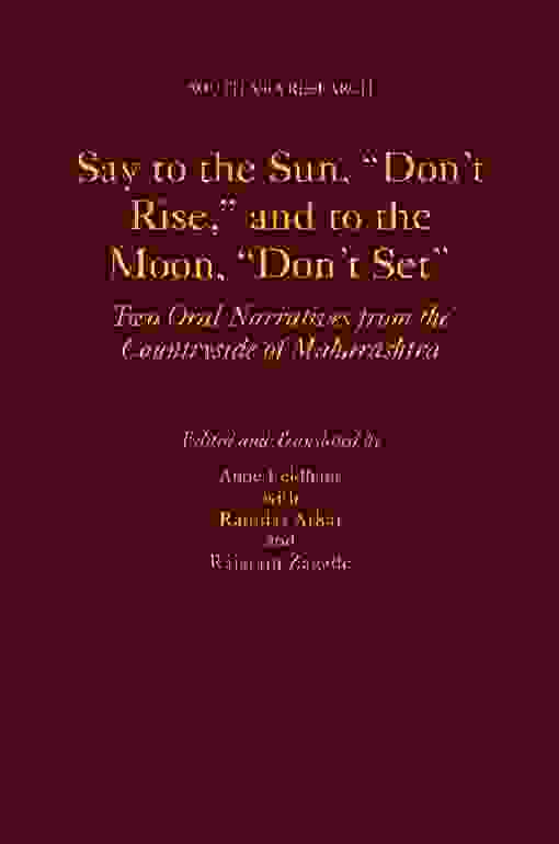 "Say to the Sun, ""Don't Rise,"" and to the Moon, ""Don't Set"""