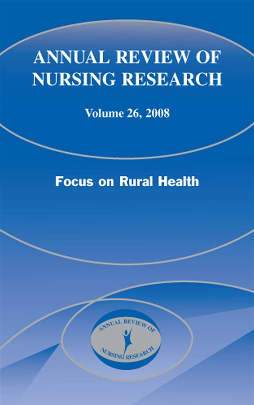 Annual Review of Nursing Research, Volume 26, 2008