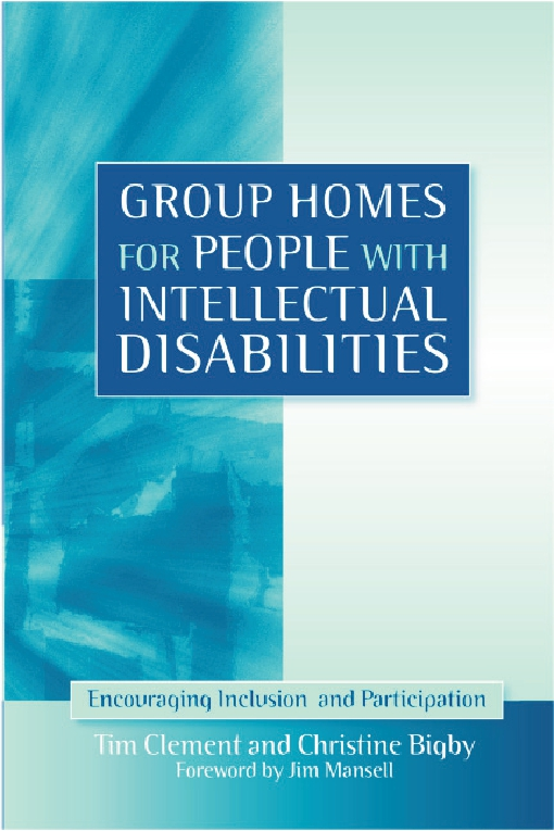 Group Homes for People with Intellectual Disabilities