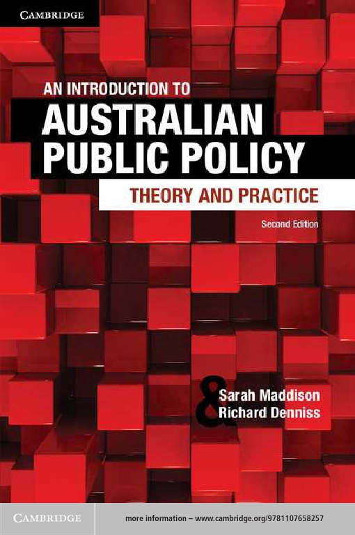 An Introduction to Australian Public Policy
