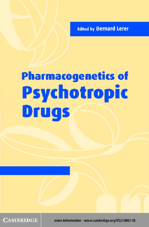 Pharmacogenetics of Psychotropic Drugs