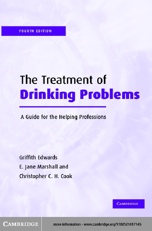 The Treatment of Drinking Problems