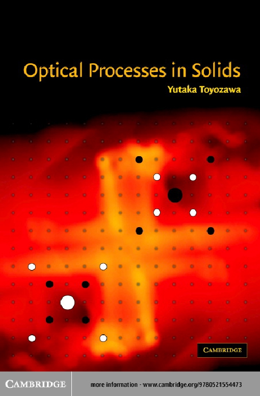 Optical Processes in Solids