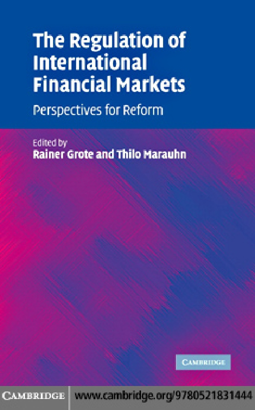 The Regulation of International Financial Markets