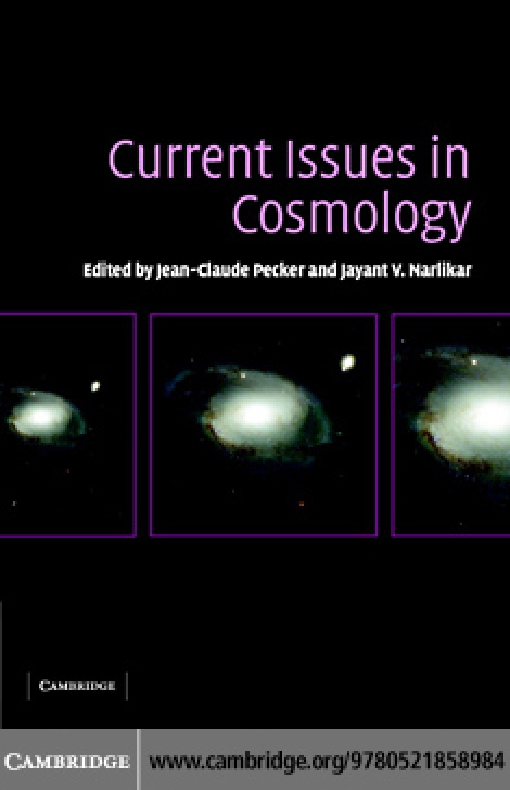 Current Issues in Cosmology