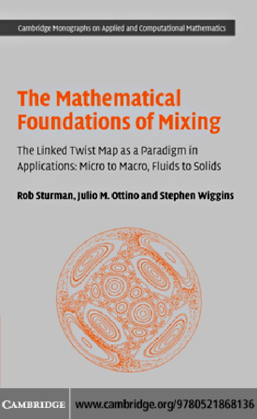 The Mathematical Foundations of Mixing