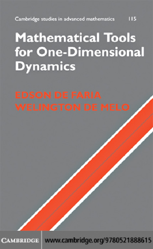 Mathematical Tools for One-Dimensional Dynamics