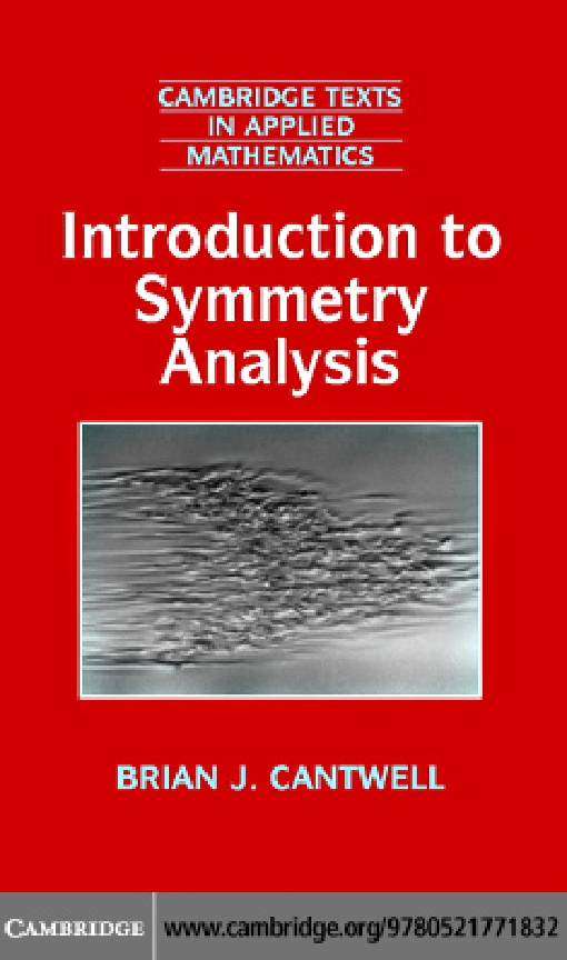 Introduction to Symmetry Analysis with CD-ROM