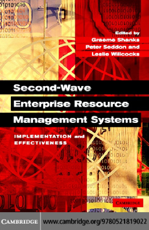 Second-Wave Enterprise Resource Planning Systems