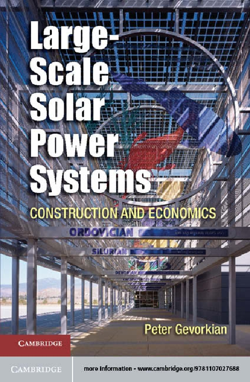 Large-Scale Solar Power Systems