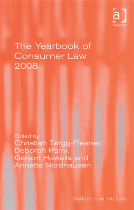The Yearbook of Consumer Law 2008