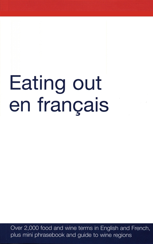 Eating out en francais