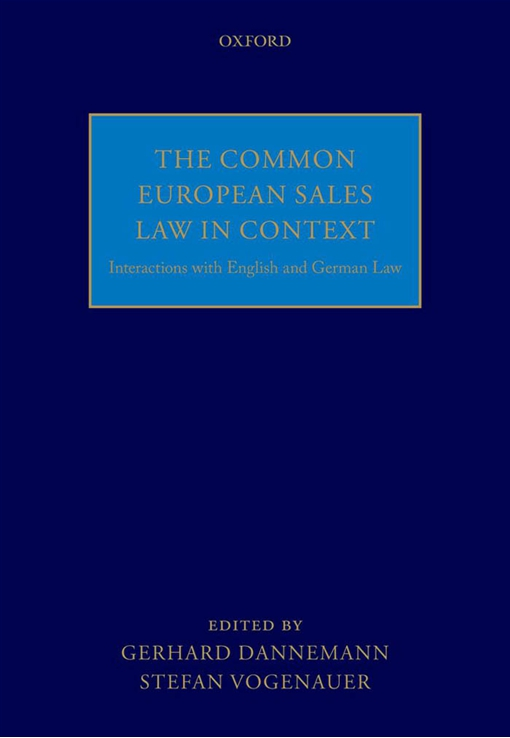 The Common European Sales Law in Context