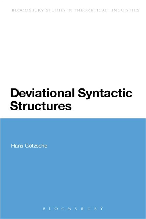 Deviational Syntactic Structures