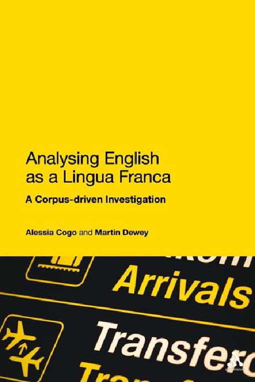 Analysing English as a Lingua Franca