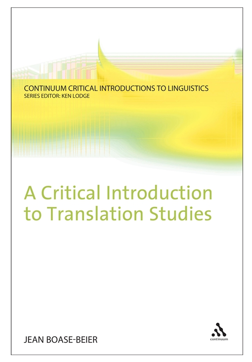 A Critical Introduction to Translation Studies