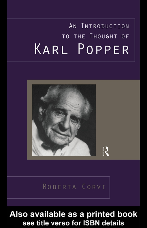 An Introduction to the Thought of Karl Popper