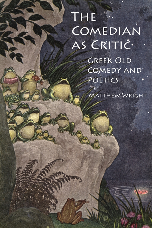 The Comedian as Critic