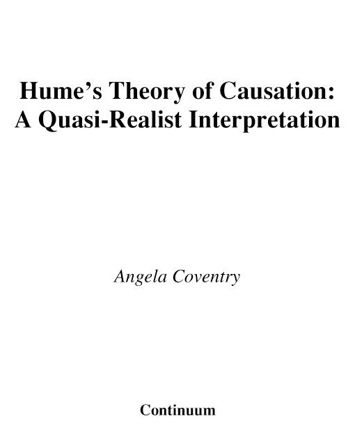 Hume's Theory of Causation