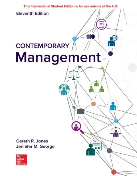 ISE eBook Online Access for Contemporary Management