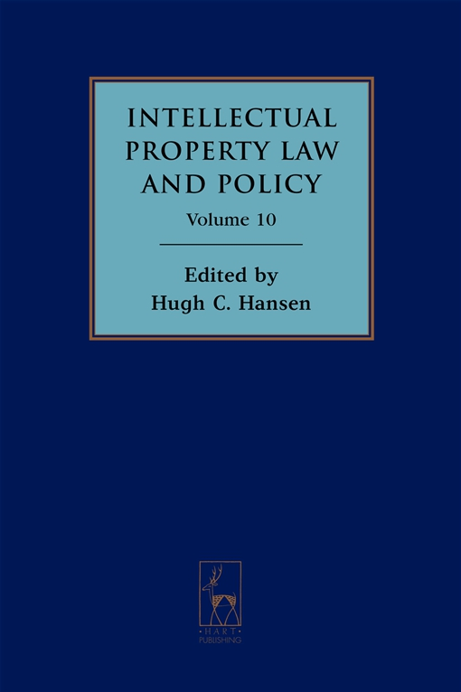Intellectual Property Law and Policy Volume 10