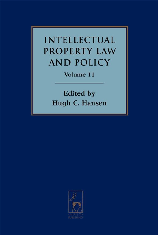Intellectual Property Law and Policy Volume 11