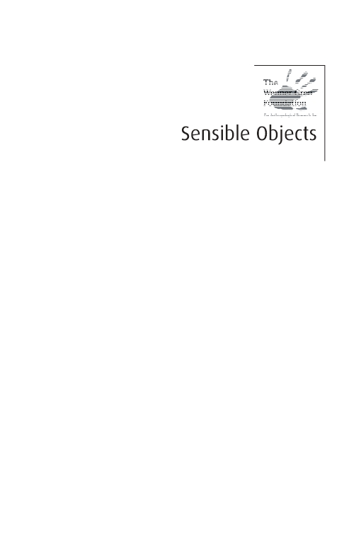 Sensible Objects