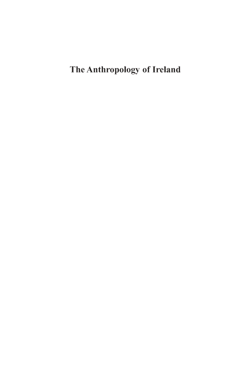 The Anthropology of Ireland