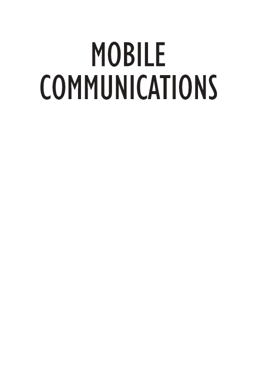 Mobile Communications