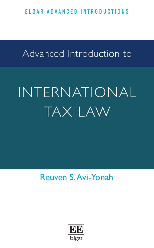 Advanced Introduction to International Tax Law