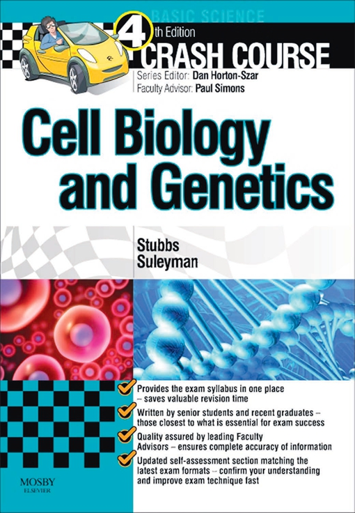 Crash Course: Cell Biology and Genetics E-Book