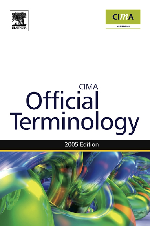 Management Accounting Official Terminology