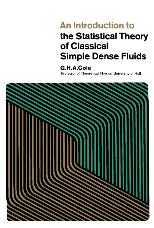 An Introduction to the Statistical Theory of Classical Simple Dense Fluids