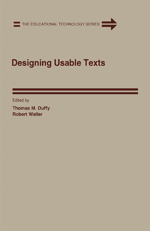 Designing Usable Texts