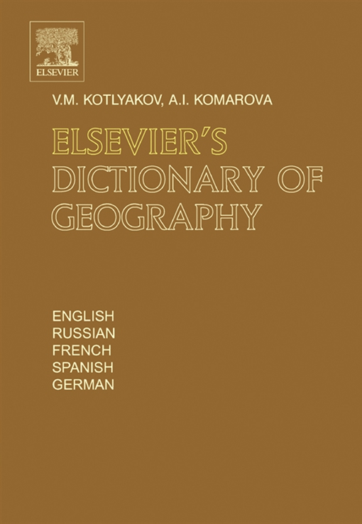 Elsevier's Dictionary of Geography