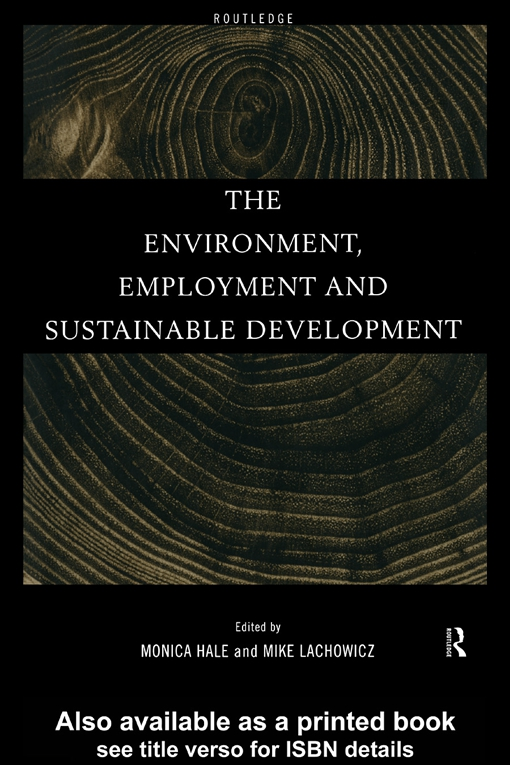 Environment, Employment and Sustainable Development