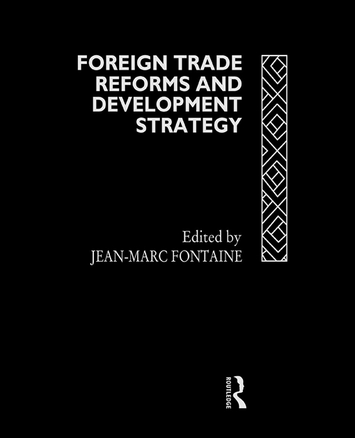 Foreign Trade Reforms and Development Strategy