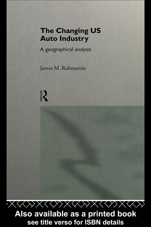 Changing U.S. Auto Industry
