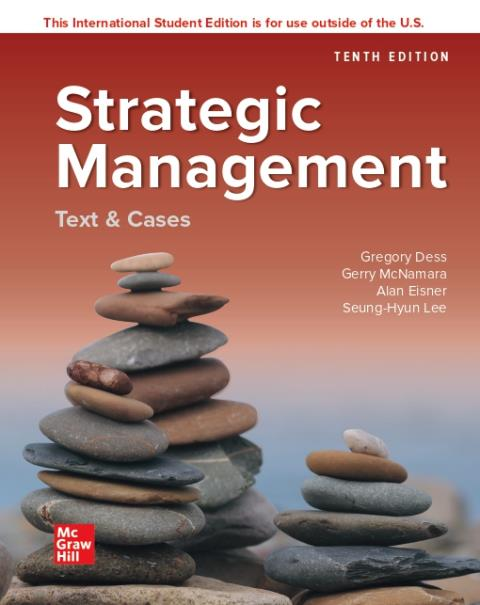 ISE eBook Online Access for Strategic Management: Text and Cases