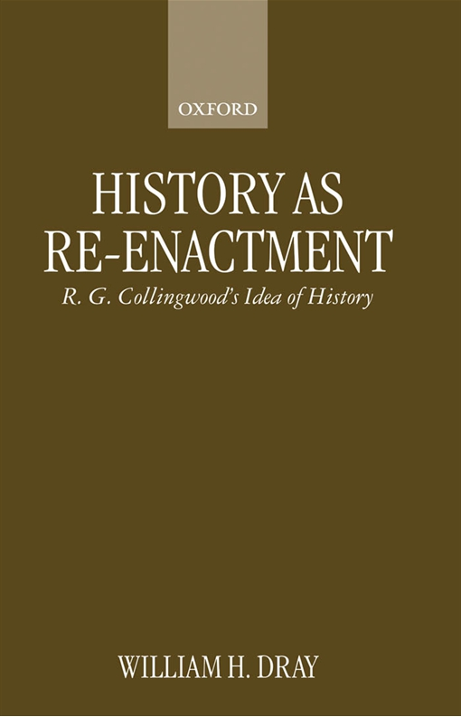 History as Re-enactment