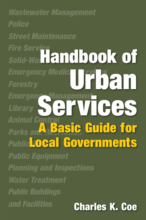 Handbook of Urban Services: A Basic Guide for Local Governments
