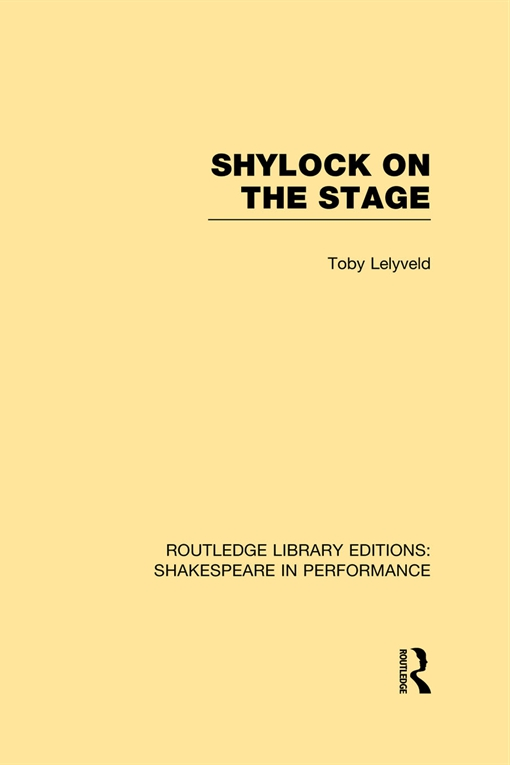 Shylock on the Stage