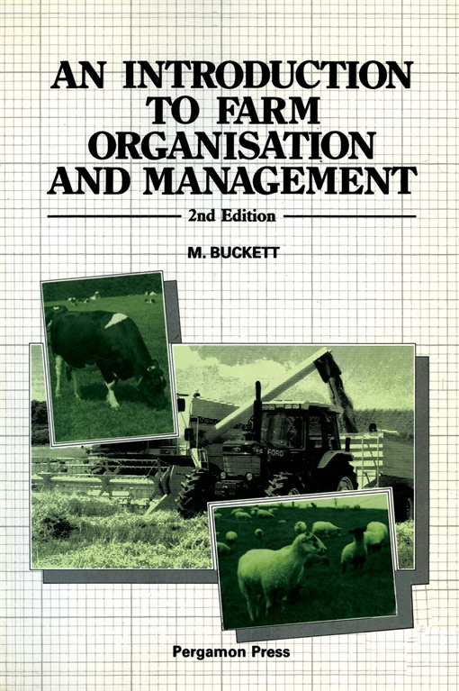 An Introduction to Farm Organisation & Management