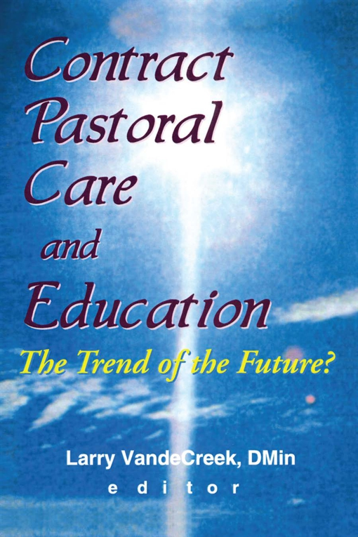 Contract Pastoral Care and Education