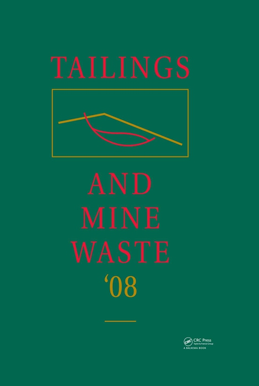 Tailings and Mine Waste '08