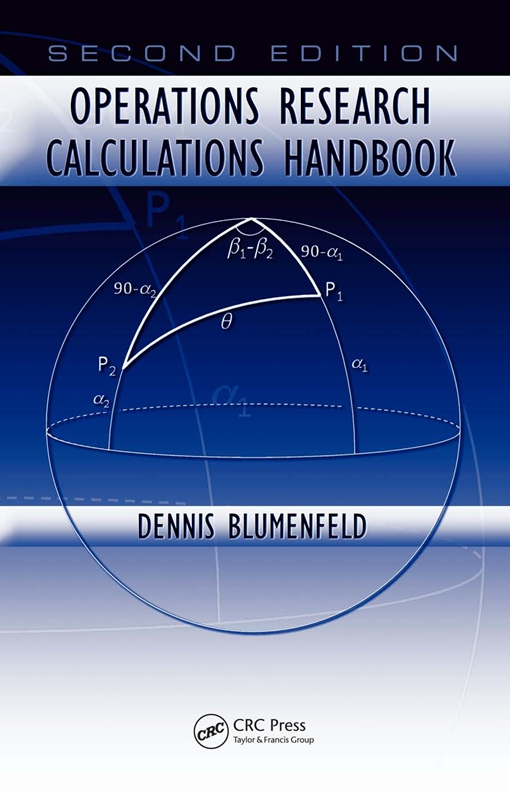 Operations Research Calculations Handbook, Second Edition