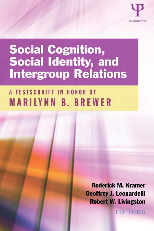Social Cognition, Social Identity, and Intergroup Relations