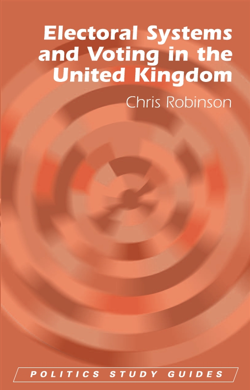 Electoral Systems and Voting in the United Kingdom