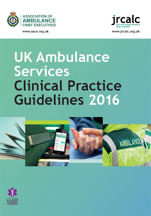 UK Ambulance Services Clinical Practice Guidelines 2016 - Version 1.4